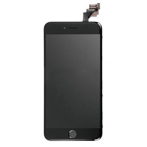 For Apple iPhone 6 Plus - LCD Digitizer Touch Screen Complete Assembly - With Spear Parts - Black - Genuine OEM