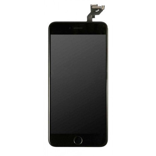 For Apple iPhone 6S Plus - LCD Digitizer Touch Screen Assembly - With Spare Parts - Black - OEM