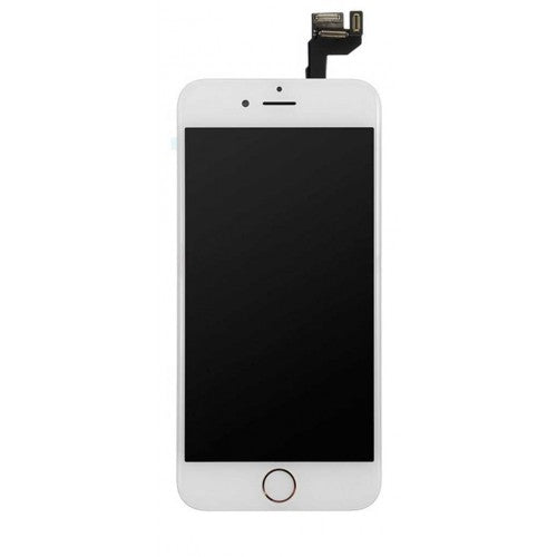 For Apple iPhone 6S Plus - LCD Digitizer Touch Screen Complete Assembly - With Spare Parts - White - OEM