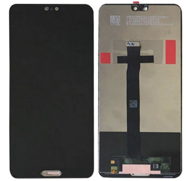 For Huawei P20 EML-L09 - LCD Digitizer Touch Screen Assembly - Black - OEM