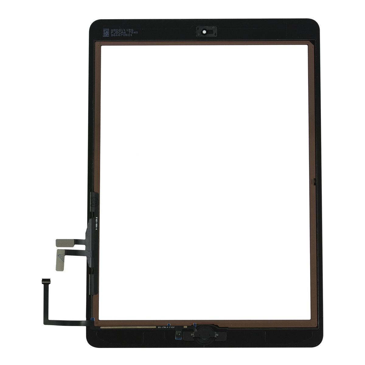 For Apple iPad Air Touch Screen Digitizer & Home Button Assembly - Black