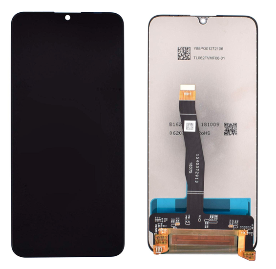 Huawei Honor 10 Lite - LCD Digitizer Touch Screen Assembly - Black - OEM