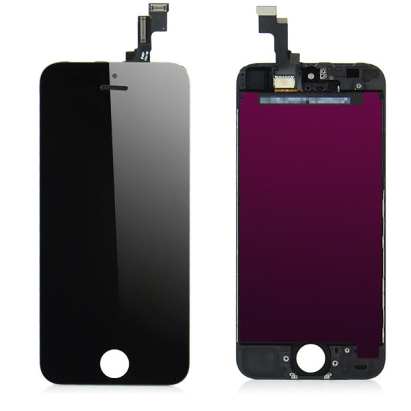 For Apple iPhone 5S - LCD Digitizer Touch Screen Assembly - Without Spare Parts - Black - OEM