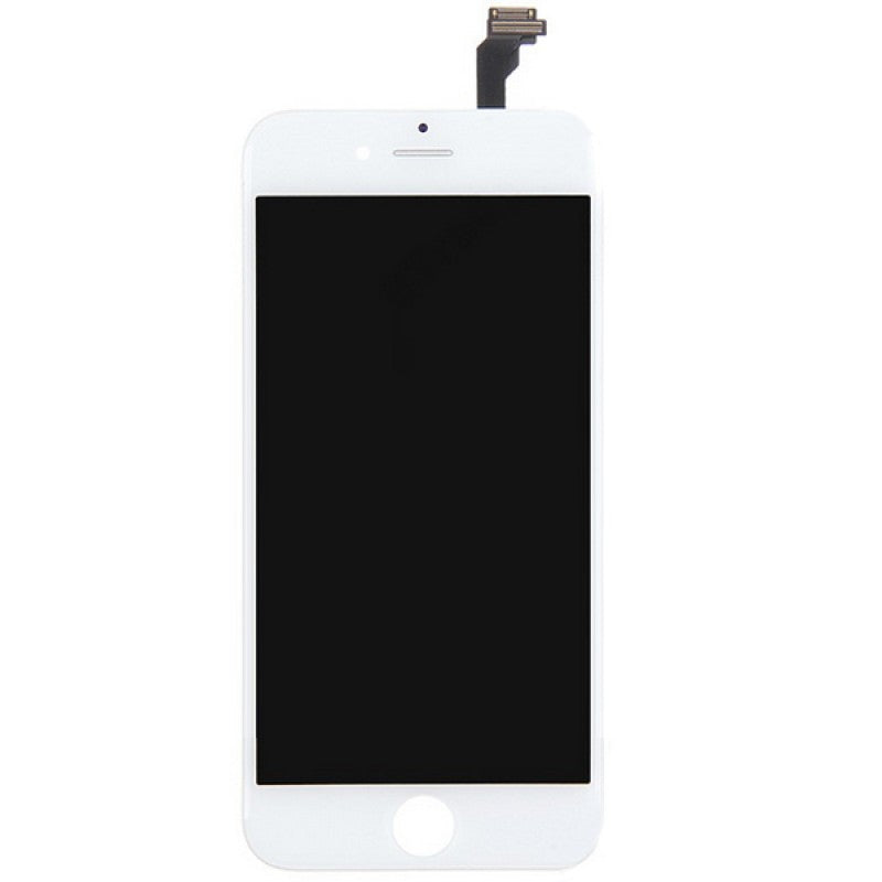 For Apple iPhone 6 6G - LCD Digitizer Touch Screen Assembly - Without Spare Parts - White - OEM