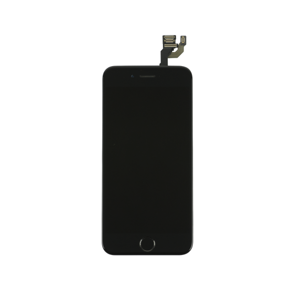 For Apple iPhone 6 6G - LCD Digitizer Touch Screen Assembly - With Spare Parts - Black - OEM