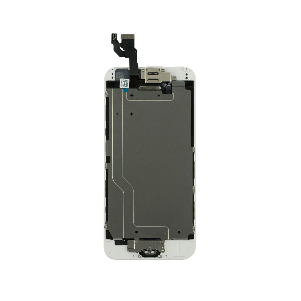 Iphone 6 6g Complete Lcd Screen With Parts White Oem Easy Tech Touchscreen Samsung S5 Ltd