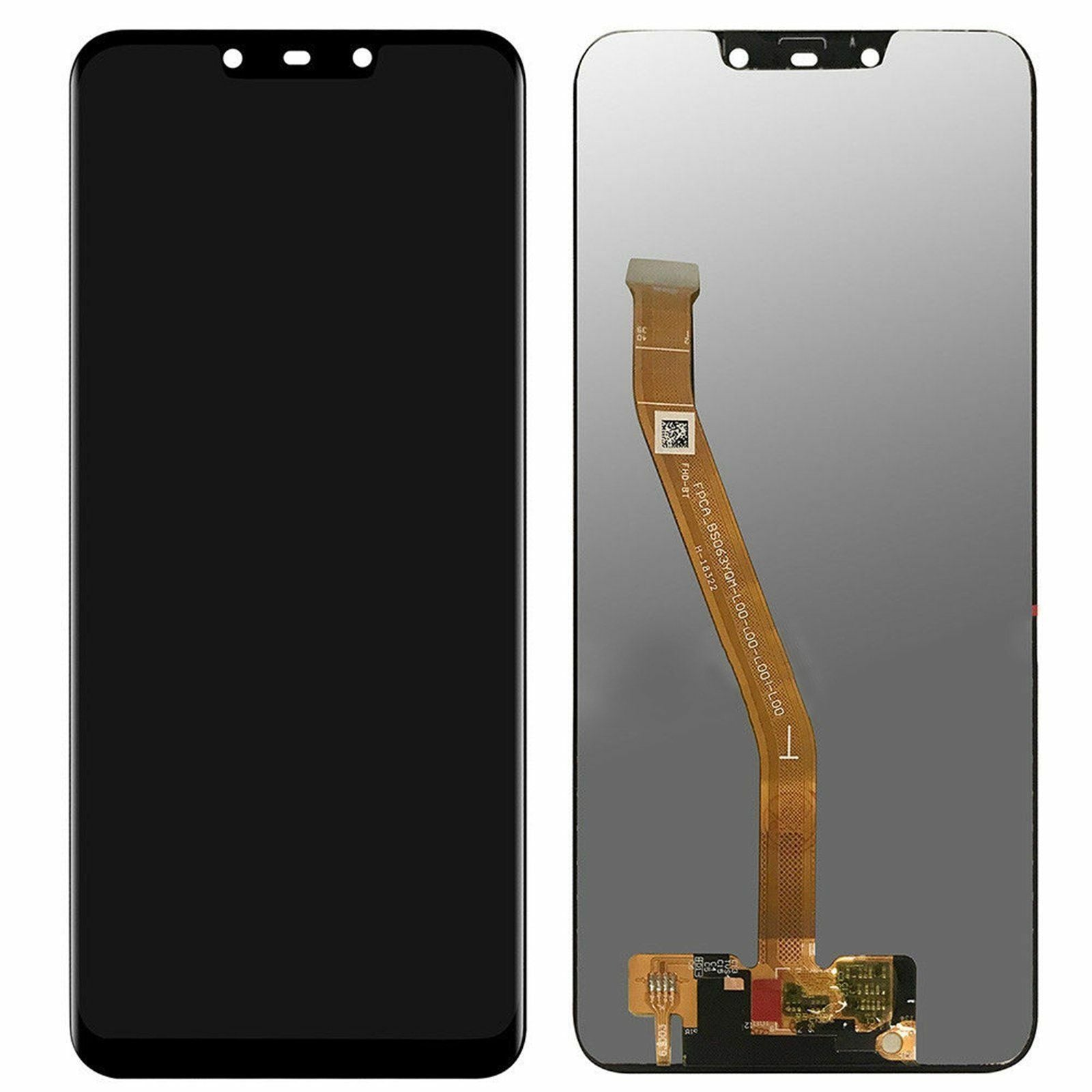 Huawei Mate 20 LITE - LCD Digitizer Touch Screen Assembly - Black - OEM