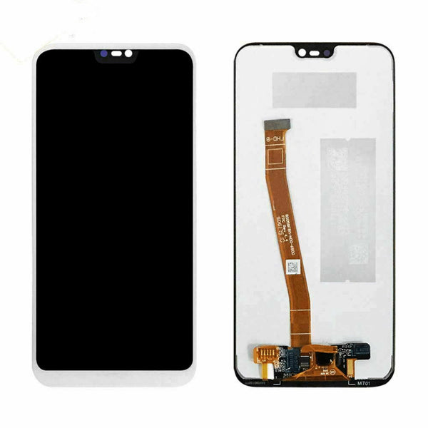 For Huawei P20 LITE - LCD Digitizer Touch Screen Assembly - White - OEM