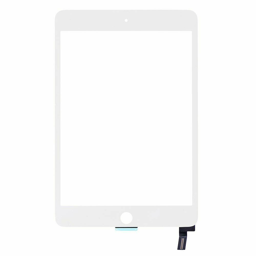 White iPad Mini 4 Glass Digitizer Touch Replacement Screen