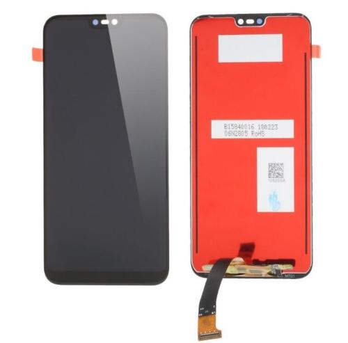 For Huawei P20 LITE - LCD Digitizer Touch Screen Assembly - Black - OEM