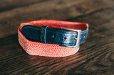 The Filbelt - Woven with 5 hole Alligator Tabs