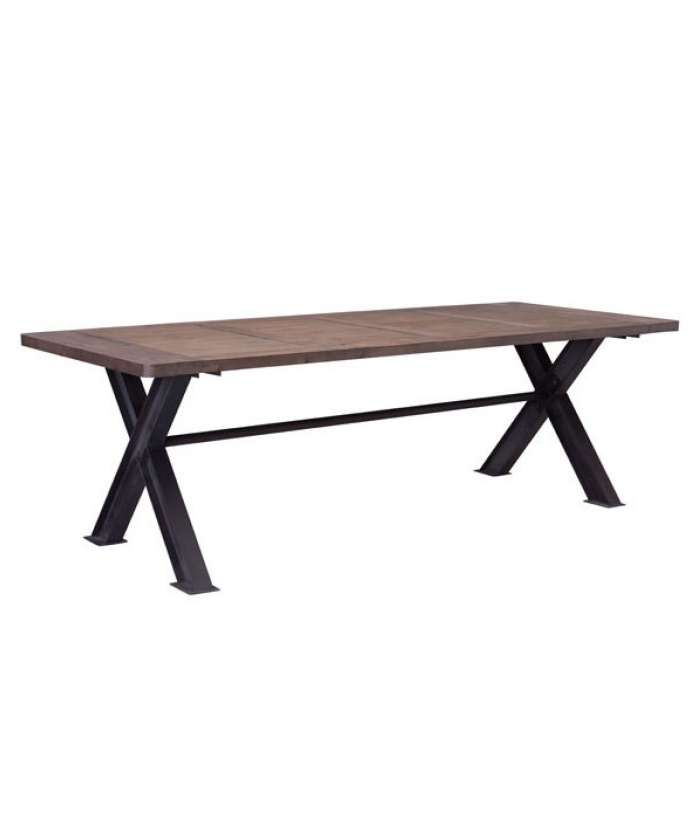haight ashbury dining table | distressed - the mod gallery