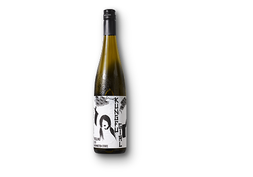 Hvidvin, Charles Smiths Kungfu Girls Washington, Riesling, 75 cl.