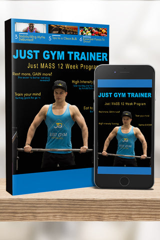 Just MASS 12 Week Trainer