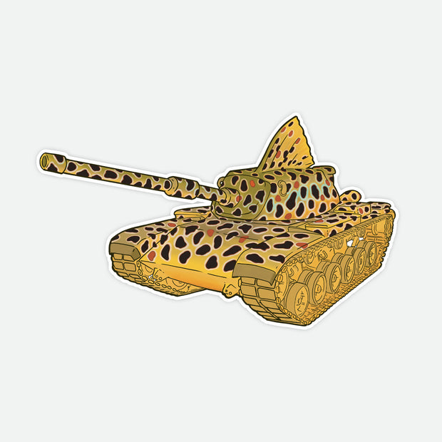 Brown Trout Tank Decal