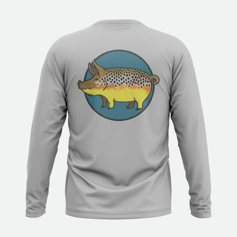 Pig Brown Trout Solar Shirt