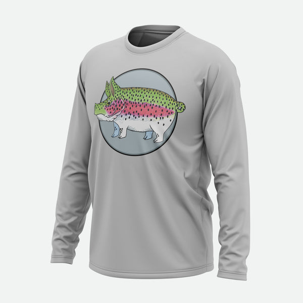Pig Rainbow Trout Solar Shirt