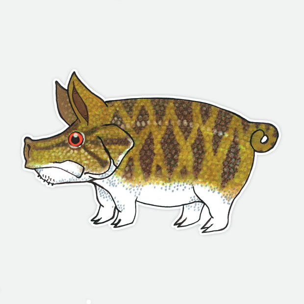 Pig Smallmouth Decal