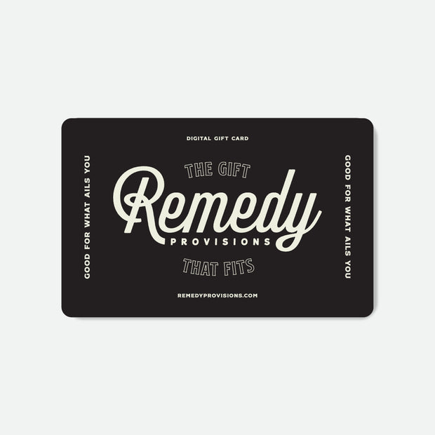 Remedy Provisions Gift Card