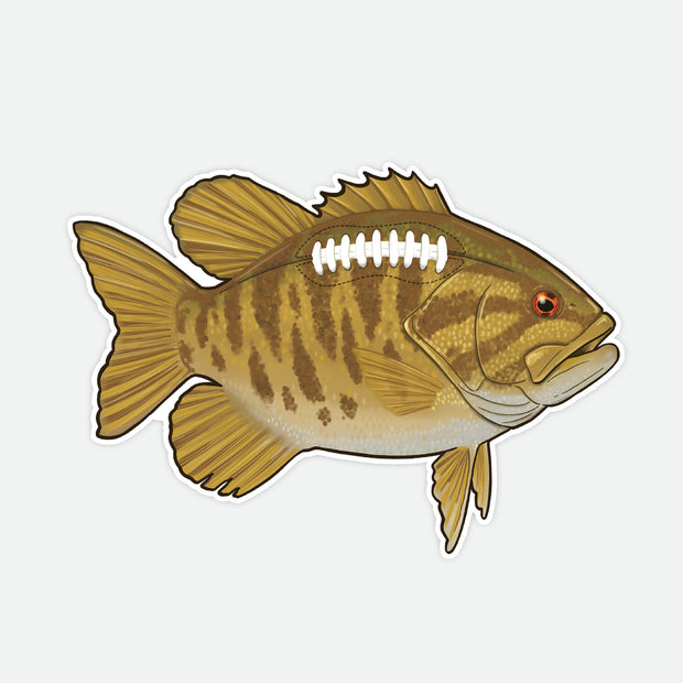 Smallie Football Decal