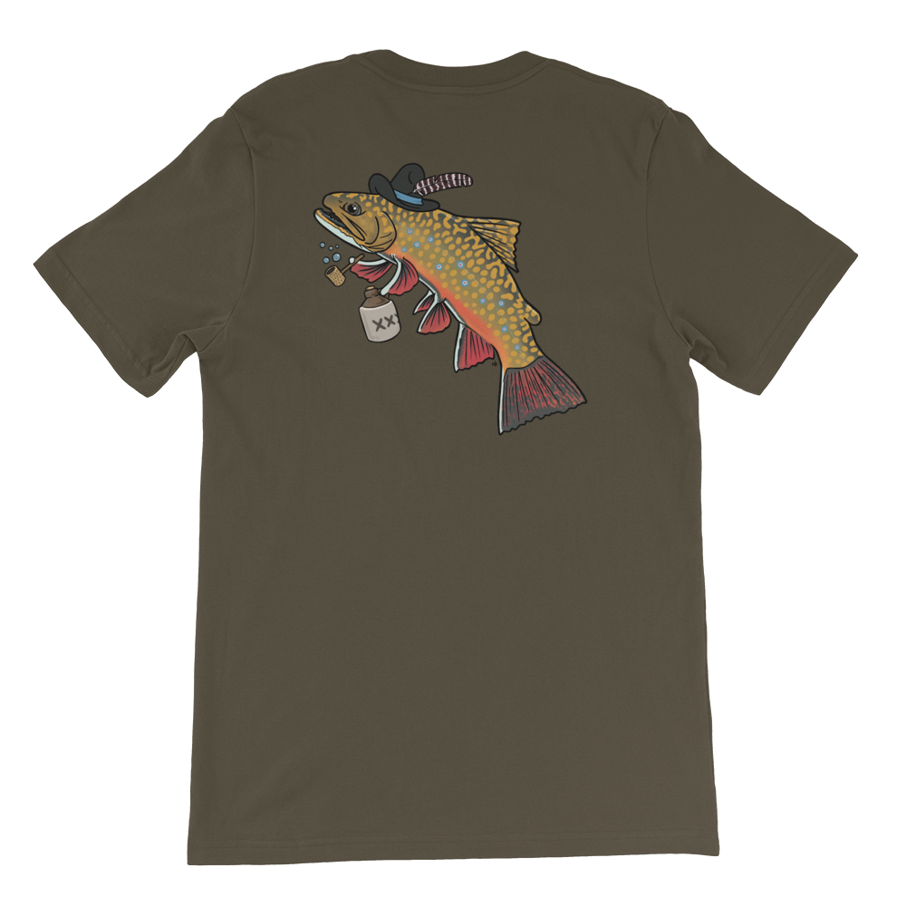 Hillbilly Brook Trout T