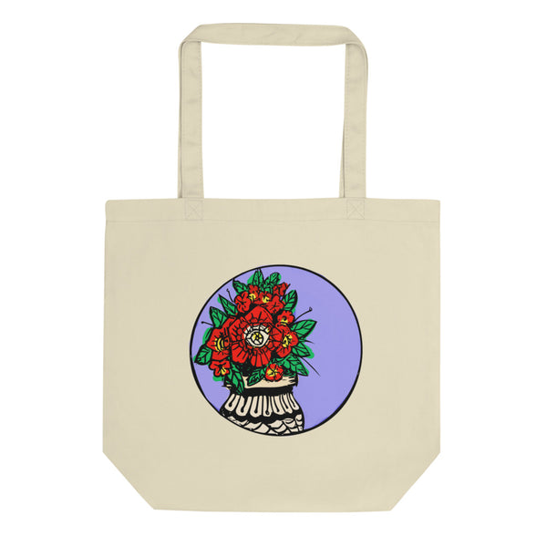 Classic Flower Eco Tote Bag