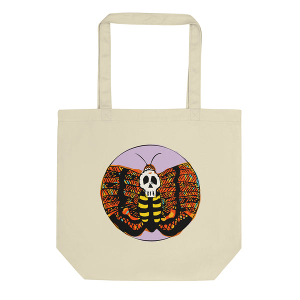 Death Moth Eco Tote Bag