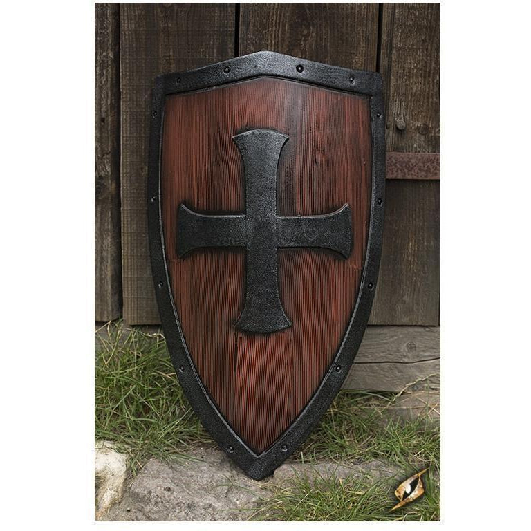 LARP-LARP Crusaders Shield - Wood and Metal-Epic Armoury - DC-GoblinSmith