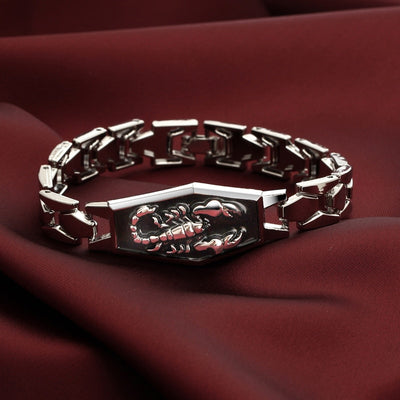 Pagan Punk Stainless Steel Bracelets-GoblinSmith