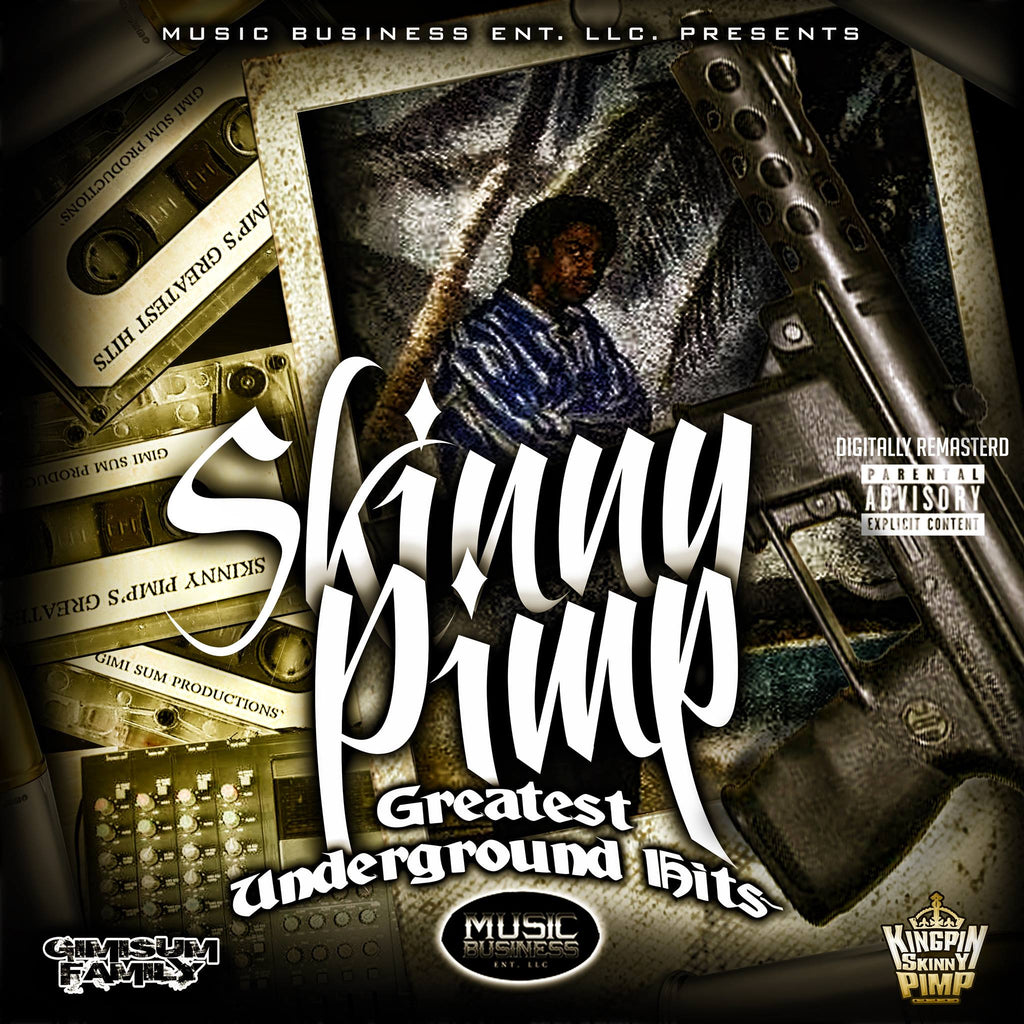 Skinny Pimp Greatest Underground Hits 1993-94 (remastered) Hard Copy