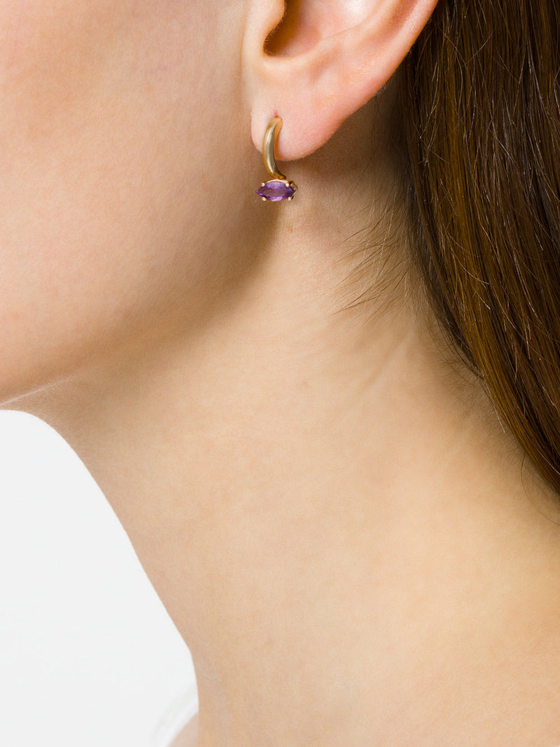 Gloriosa Lily Small Earrings