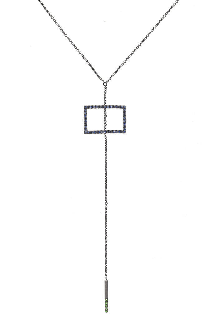 MIDDLE Y-Shaped Chain Necklace