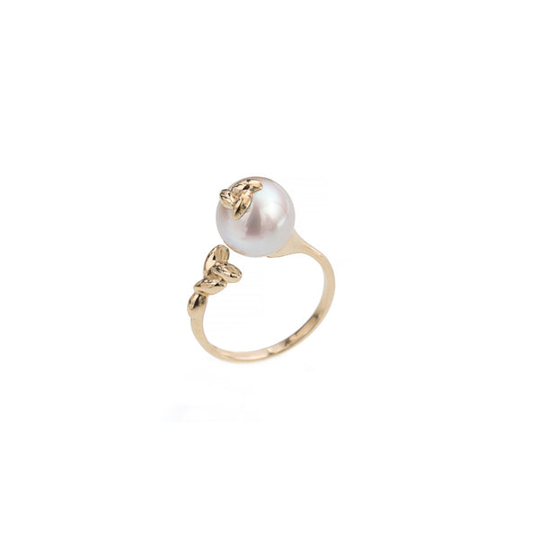 Open Pearl Rice Ring