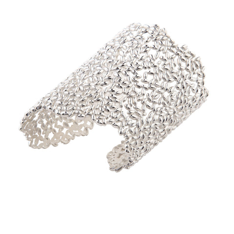 Large Lace Rice Cuff - Left