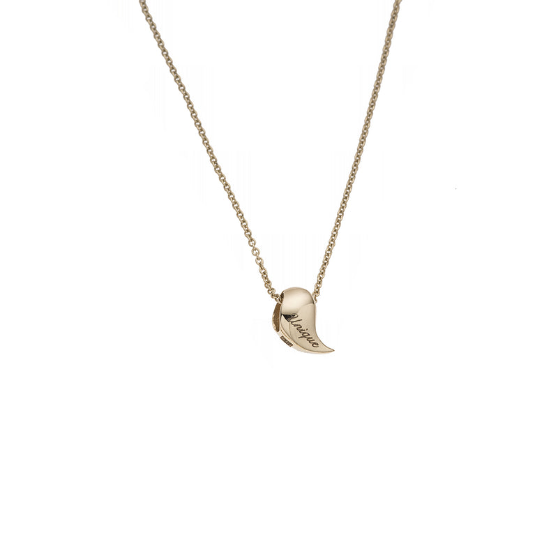 Heliconia Gold Necklace