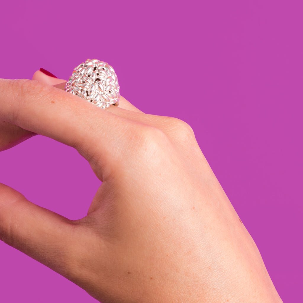 Rice Cluster Ring
