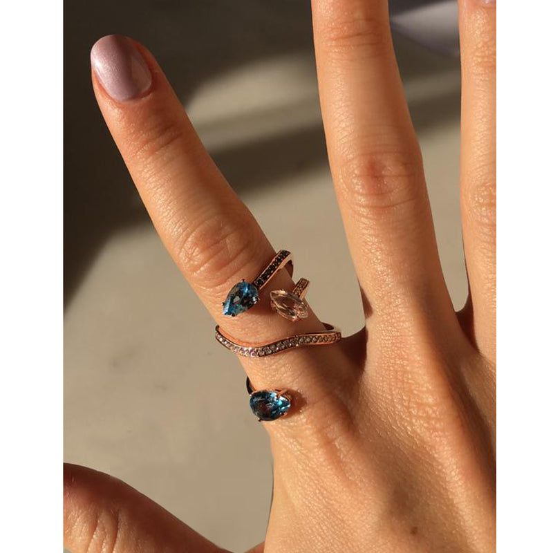 Naked Cocktail Ring