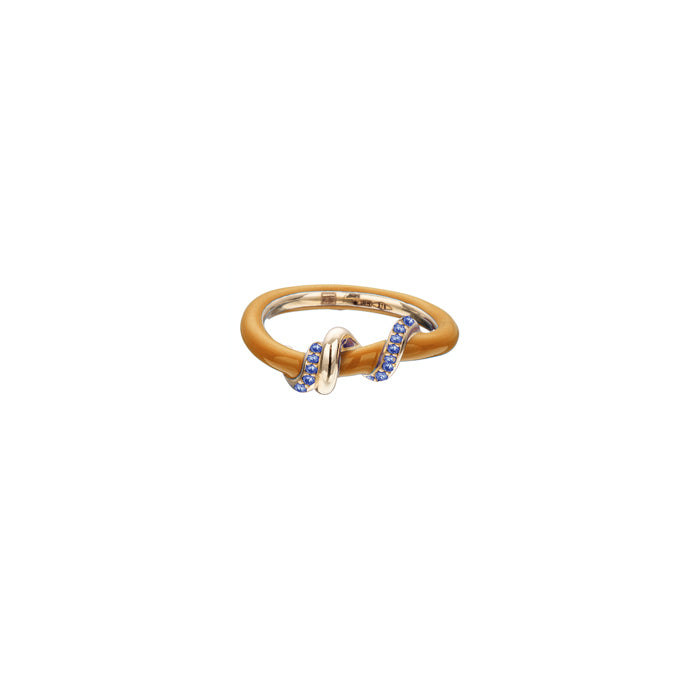 Pavé Baby Vine Wrapped Stacking Ring
