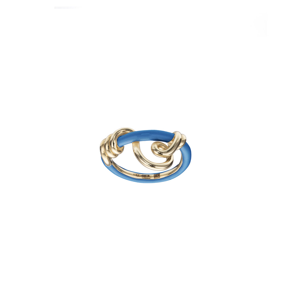 Wrapped Vine Curl Ring