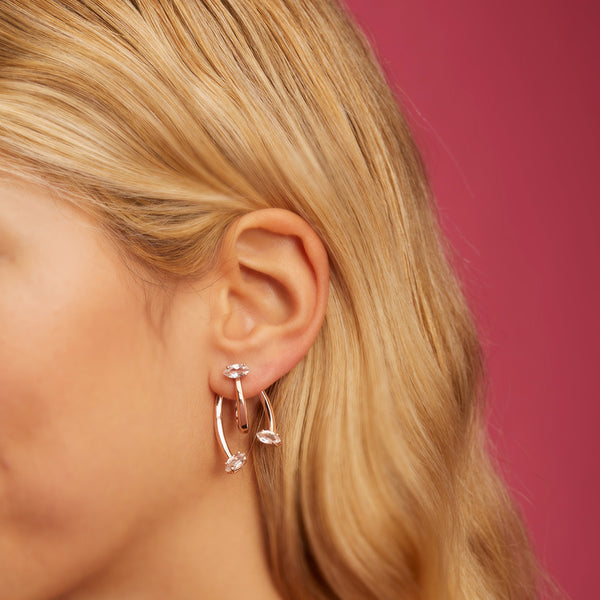 Honeysuckle Gold Earrings