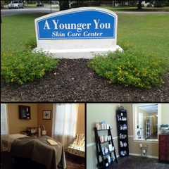 A Younger You Skin Care Location Sign