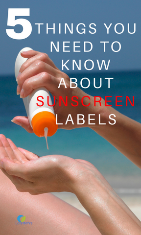 5 things you need to know about sunscreen labels