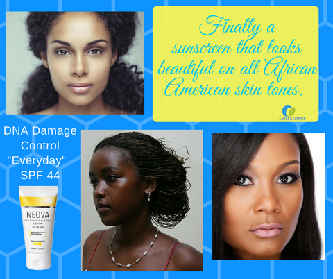 Sunscreen for African American Skin