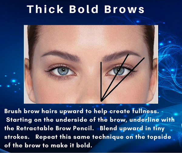 How To Make Your Brows Appear Thicker