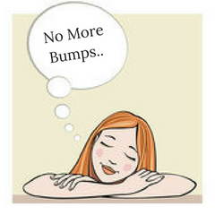 wishing no more bumps