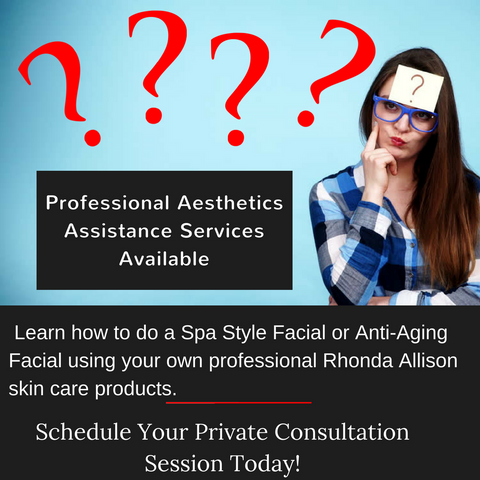 Professional Aesthetician Assistance