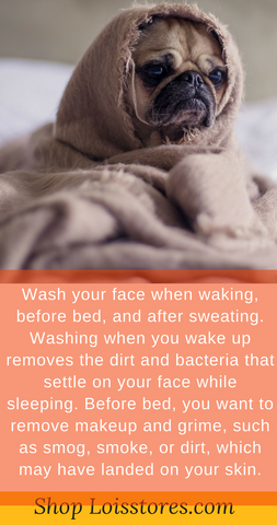 Wash Your Face Morning and Evening - Shop Loisstores image