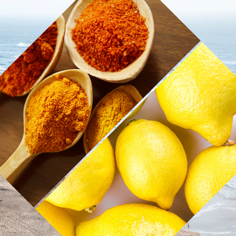 Turmeric and Lemon Juice DIY Hyperpigmentation treatment