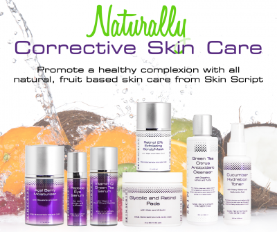Skinscript natural corrective care