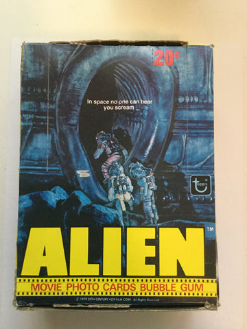 Alien first Movie cards 36 packs full box Topps 1979